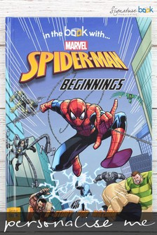 Personalised Marvel Spider-Man™ Book by Signature Book Publishing