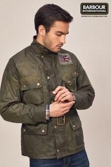 Barbour® International Olive Joshua Wax Jacket