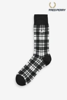 Chaussettes à motif écossais Fred Perry