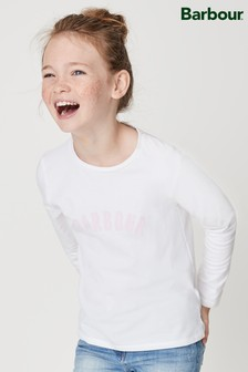 Barbour® Claire White Tee