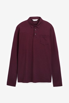 Long Sleeve Regular Fit Polo