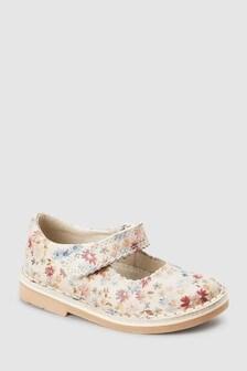 Кожаные туфли с ремешком (Младшего возраста)