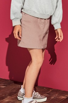 Cord Stud Skirt (3-16yrs)
