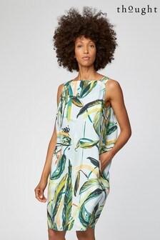 Thought Green Garabina Dress