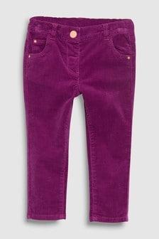 Вельветовые джинсы облегающего кроя (3 мес.-6 лет)