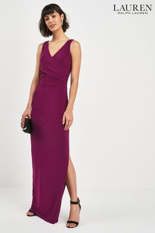 Lauren Ralph Lauren Ruby Sleeveless Wrap Maxi Dress