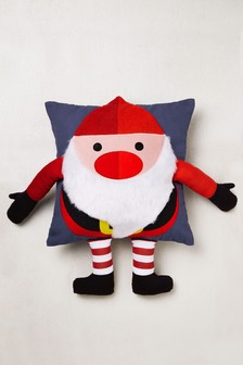 Jolly Santa 3D Cushion