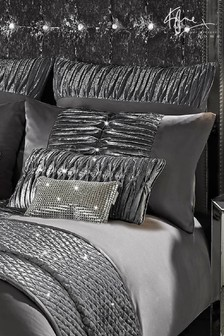 Kylie Exclusive To Next Velvet Panel Atmosphere Pillowcase