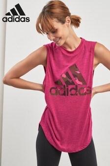 adidas Pink Athletics Tank