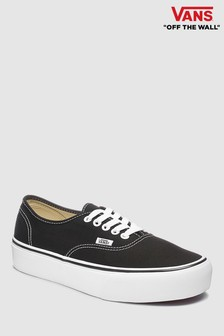 Vans Black Authentic Platform Trainer