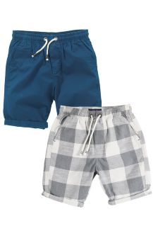 Pull-On Shorts Two Pack (3-16yrs)
