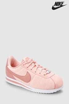 Nike Pink Pleat Cortez