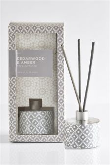 Amber And Cedarwood 180ml Diffuser
