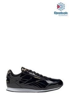 Черные классические кроссовки Reebok (для подростков)