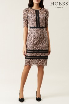 Hobbs Pink Penny Dress