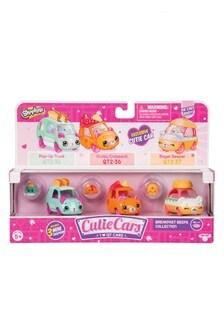 Shopkins Cutie Cars 3 Pack - Breakfast Beeps
