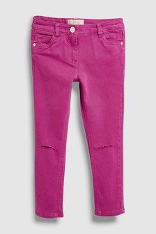 Skinny Jeans With Unicorn Keyring (3-16yrs)