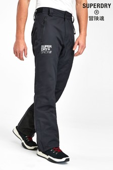 Superdry Ski Black Snow Trousers