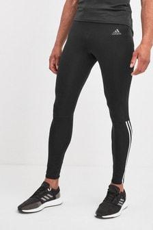adidas Run Black 3 Stripe Leggings
