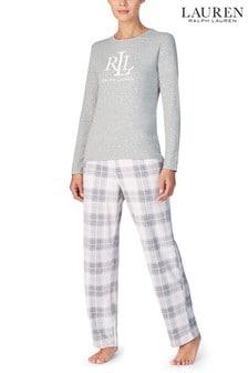 Lauren Ralph Lauren Green Plaid Pyjama Gifting Set