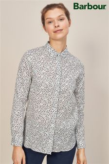 Barbour® Blue Hustanton Bird Print Shirt
