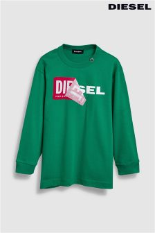 Diesel® Kids Tedri Long Sleeve Tee