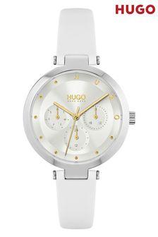 HUGO Hope Multi Leather Strap Watch