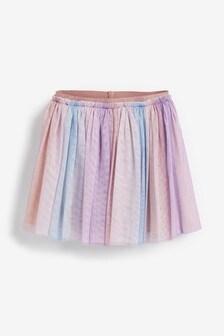 漸層亮面裙 (3個月至7歲)