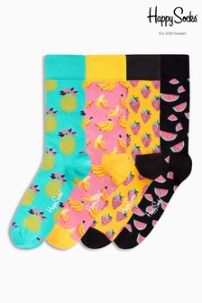 Fruits Socks Four Pack Gift Box