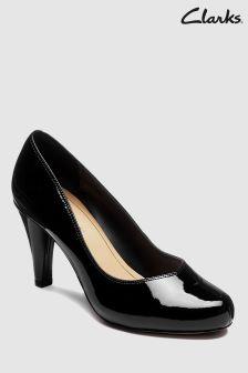 Chaussures Clarks Dalia Rose vernis à talons
