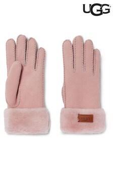 UGG® Pink Turn Cuff Gloves