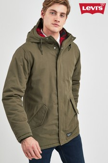 Levi's® Green Padded Parka Jacket