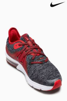 Nike Run Grey/Red Sequent 3