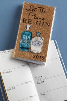 Let The Plans Be-Gin Pocket Diary