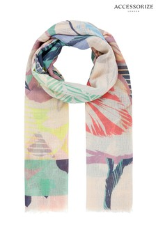 Accessorize Abstract Print Scarf