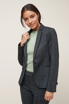 Ponte Single Breasted Jacket