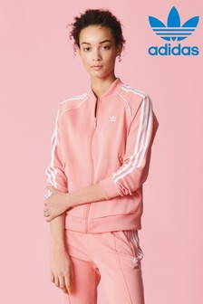 adidas Originals Pink Superstar Track Top