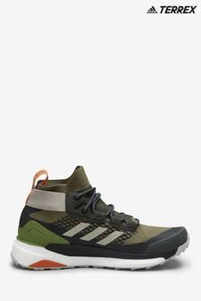 adidas Terrex Khaki Free Hiker Gortex Boots