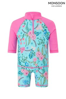Monsoon Turquoise Baby Elsa Sunsafe Two Piece Set