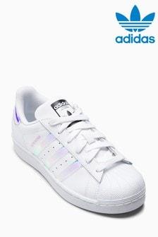 Zapatillas iridiscentes Superstar de adidas Originals