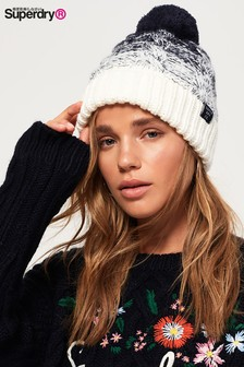 3db09ce3125 Superdry Clarrie Cable Beanie