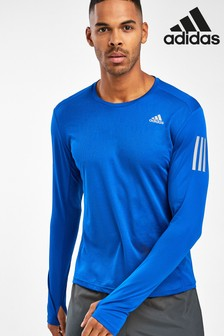adidas Royal Blue Own The Run Long Sleeved T-Shirt