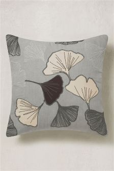 Ginko Appliqué Cushion