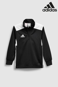 adidas Black REGI18 Track Top
