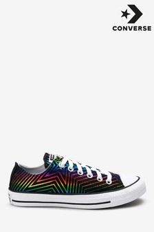 Converse Rainbow Star Low Trainers