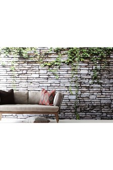 Paste The Wall Ivy Wall Mural Wallpaper