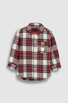 Tartan Check Embroidered Shirt (3mths-6yrs)