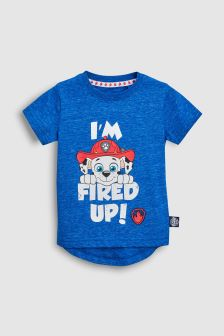 Short Sleeve Paw Patrol T-Shirt (3mths-6yrs)
