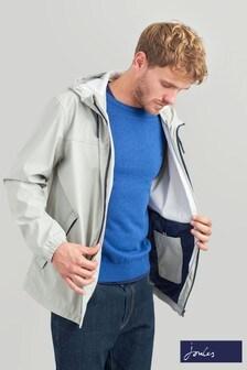 Joules Grey Portwell Leightweight Waterproof Jacket