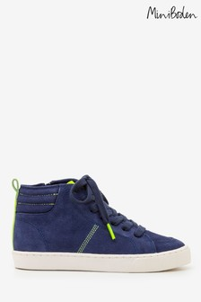 Boden Blue Suede High Tops